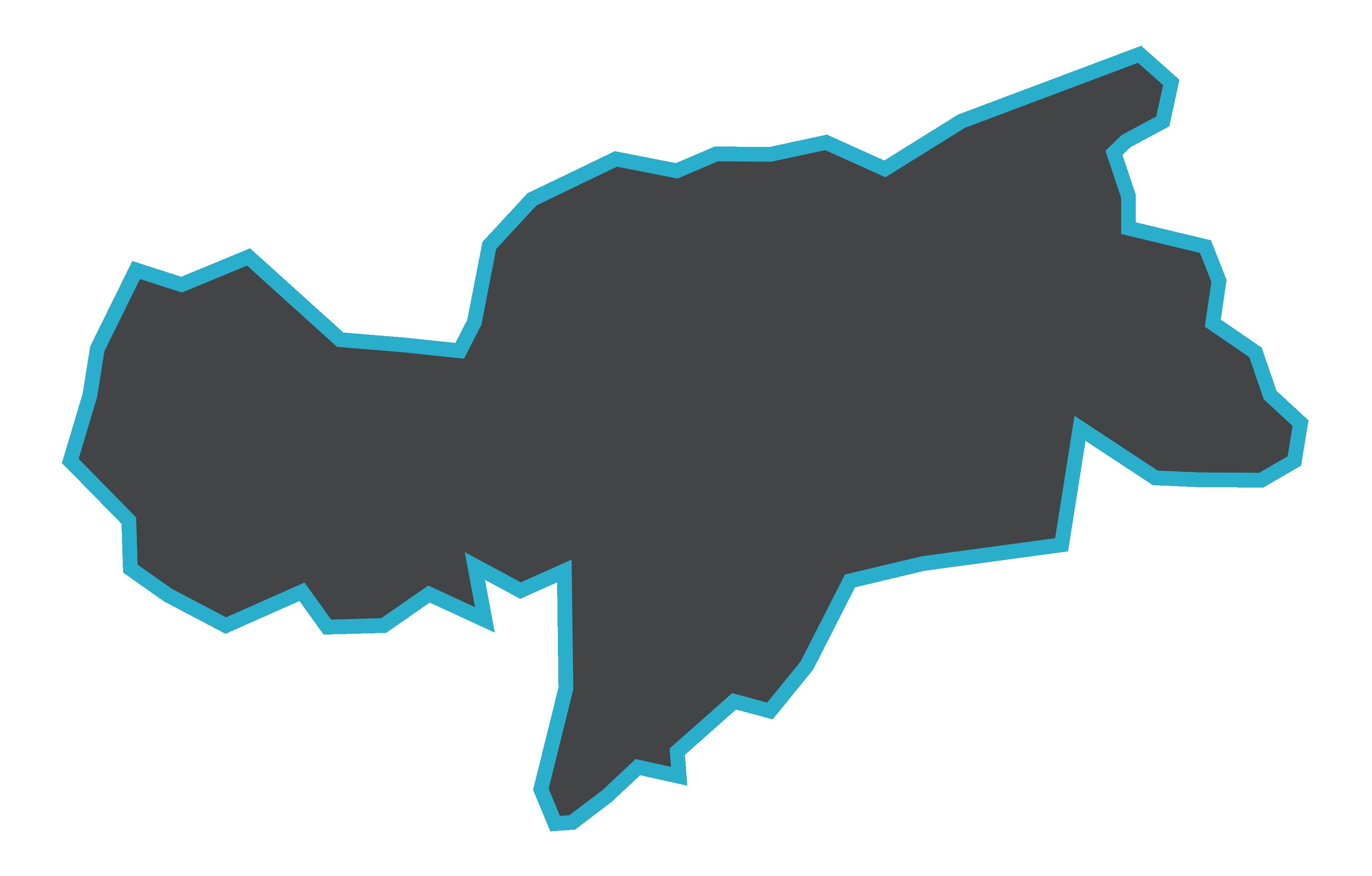 Südtirol Umriss